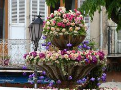 Grasse fountain Côte dAzur