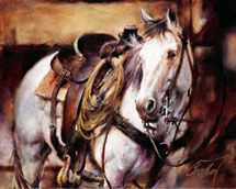 Chris Owen Artist Cowboy and Western Art Prints capture the ranch style life in all it detail. Cattle drives, Horses and more. Cowboy Horse, Cowboy Art, Western Cowboy, Horse Girl, Chris Owen, Arte Equina, Western Photo, Watercolor Horse, Horse Drawings