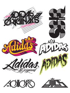 Adidas type treatments by Hydro74