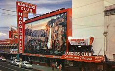 remember how cool this casino was at night!!  HAROLD'S CLUB, old Reno! NV
