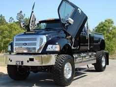 F650..... This is..... Ugh.... Just like the coolest ever. I'm sorry, I will never grow out of loving big trucks :)