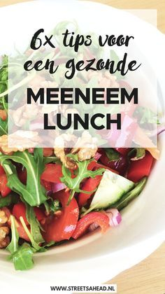 lekkere lunch recepten om mee te nemen