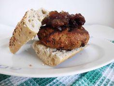Pork & Apple Burgers with Apple & Sultana Chutney Recipe on Yummly