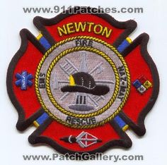 Newton Fire Rescue Department Patch Iowa IA