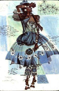 Yoruba/ Candomble water deity.  Candomble is a religion based on African beliefs…