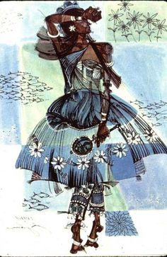 Yoruba/ Candomble water deity.  Candomble is a religion based on African beliefs that originated in Brazil. Love the picture