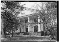 1.  Historic American Buildings Survey Branan Sanders, Photographer March 1934 FRONT VIEW NORTHEAST - Bulloch Hall, Roswell, Fulton County, GA   Library of Congress