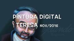 Pintura Digital Teresa Jovem