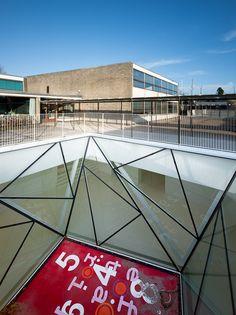 Munkegaard School. Dorte Mandrup Vs. Arne Jacobsen