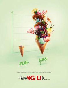 Viking Line Cruises: Fun And Stuff, Ice-cream | Ads of the World™