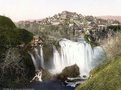 Jajce, Bosnia & Herzegovina, Austro-Hungary 1890-1900 (600x450)