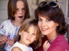 Natalie with daughters Natasha & Courtney. x
