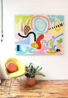 Painting Inspiration, Art Inspo, Palette Pastel, Arte Pop, Diy Art, Art Projects, Illustration Art, Illustrations, Abstract Art