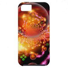 Inter-Dimensional Stellar Nursery iPhone 5 Case $47.95 #xzendor7 #fractal #digitalart #fractalart #geometricart #fringe