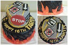 53 Ideas birthday cake ideas for teens boys signs Boys 16th Birthday Cake, Dessert Table Birthday, Birthday Cakes For Teens, Cakes For Boys, Boy Birthday Parties, Boy Cakes, Birthday Ideas, Happy Birthday, Sweet Sixteen Cakes