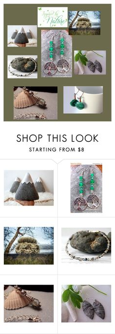 """Inspired by Nature"" by dunroaminfarmdesign ❤ liked on Polyvore"