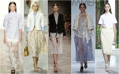 #Trend Lace #Fashion Beautifully Fierce!: New York Fashion Week: Spring/Summer 2015.
