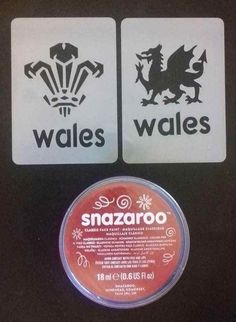 Welsh feather face painting set Wales reusable 6 nations rugby World Cup #DazzleGlitterTattoos #TemporaryTattoosHenna Glitter Tattoo Set, Dragon Face Painting, Feathered Dragon, Face Paint Set, Rugby World Cup, Welsh, Stencils, Tattoos, Tatuajes