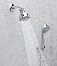 GROHE Rainshower Relexa - hand shower on the bar?
