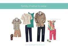 what to wear for family pictures | Family Pictures What To Wear