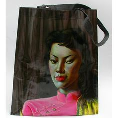 miss wong by tretchikoff tote bag. notoriouskitsch.co.uk