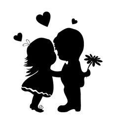 Wall Sticker for Kids 86 Couple Wallpaper, Love Wallpaper, Disney Wallpaper, Couple Drawings, Art Drawings, Black Background Images, Silhouette Clip Art, Love Art, Graffiti