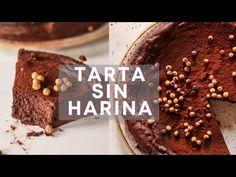 TARTA DE CHOCOLATE SIN HARINA | Saludable, sin gluten y en 10 MINUTOS. ¡¡La más rica del mundo!! - YouTube Cocina Natural, Spanish Cuisine, Gluten Free Cakes, No Bake Desserts, Low Carb, Cooking Recipes, Keto, Vegan, Baking