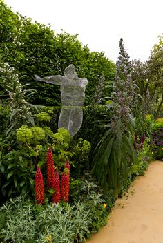 Radiant Garden at Arthritis Research UK Garden at the RHS Chelsea Flower Show 2013. Picture Richard Jane.