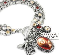 Marilyn Monroe Charm Bracelet, Marilyn Monroe Gifts, Marilyn Monroe Jewelry - Blackberry Designs Jewelry