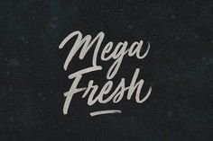 Mega Fresh by BLKBK on @creativemarket