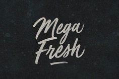 Mega Fresh by BLKBK on @creativemarket