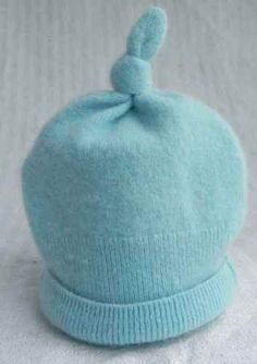Blue Hat Upcycle