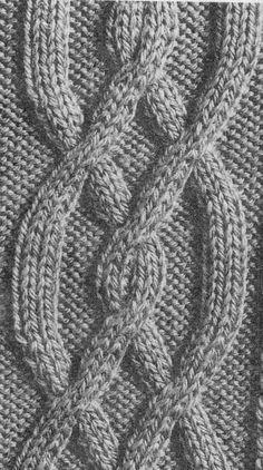 modèle tricot torsade
