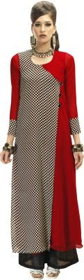 Admyrin Casual 3/4 Sleeve Checkered Women's Kurti - Buy Red, Black Admyrin Casual 3/4 Sleeve Checkered Women's Kurti Online at Best Prices in India | Flipkart.com