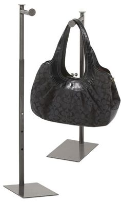 Raw Steel Countertop Merchandise Hooks - great for bags, helmets even loose-hang of shirts or jackets Handbag Display, Retail Signage, Wardrobe Organisation, Store Supply, Purse Holder, Hanging Rail, Flat Cap, Booth Design, Jewellery Display