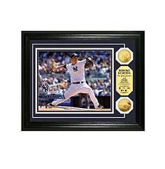 MLB® New York Yankees Hiroki Kuroda Debut Gold Minted Coin Photo
