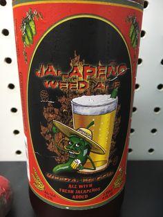 Mt Shasta Brewing - jalapeño weed ale! #FavoriteBeers #summershandy #beers #footy #greatnight #beer #friends #craftbeer #sun #cheers #beach #BBQ