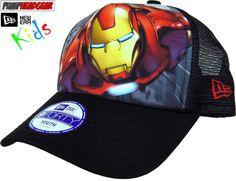 9320d2ea150  Marvel comics iron man new era  superhero  trucker cap
