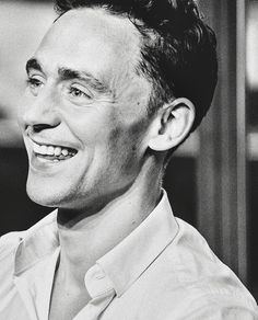 Tom Hiddleston's smile & laugh