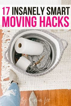 This girl is a genius! If you're moving you definitely need to read this and use all of her amazing moving hacks. They will make your life way easier, trust me!