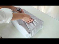 예단함 보자기 포장 - YouTube