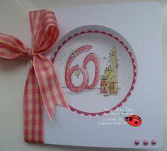 New Through the Ages release at Ladybug Crafts Ink Lady Bug, Big Birthday Cards, Ladybug Crafts, I Card, Cardmaking, Age, Blog, Number, Ladybug