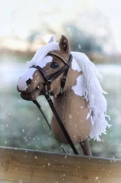 Hobbyhorses have enjoyed continued popularity through generations, finally becoming a popular young Hobby Horse, Horse Tack, Ukulele Design, Stick Horses, Horse Crafts, Sewing Dolls, Toy Organization, Middle Ages, Equestrian