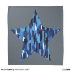Painted Star Bandana