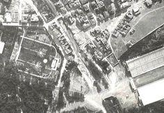Ο Ιλισσός ποταμός μεταξύ των γεφυρών Σταδίου και Ρηγίλλης και ο Κήπος του Διαδόχου το 1918. Από αεροφωτογραφία γάλλου αεροπόρου του 1ου παγκοσμίου πολέμου. Ψηφιοποιημένες στο gallica.bnf.fr Old Pictures, Old Photos, Athens History, Athens Greece, City Photo, The Past, Places, Vintage, Vintage Photos