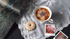 Kitchen Ghosts, cooking cinemagraphs. '' Breakfast '' By Dasha & Olya.