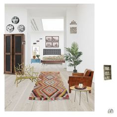 artesanal set by pelucocasio on Polyvore featuring interior, interiors, interior design, hogar, home decor, interior decorating, Home Decorators Collection, Gispen Home, Arteriors and Zentique