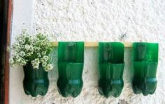 Top 25 Newest & Truly Fascinating DIY Old Bottles Reusing Id .- Top 25 Newest & Truly Fascinating DIY Old Bottles Reusing Ideas Top 25 Latest and truly fascinating DIY Old Bottles. Plastic Bottle Planter, Empty Plastic Bottles, Plastic Bottle Flowers, Plastic Bottle Crafts, Recycled Bottles, Plastic Bags, Reuse Bottles, Recycled Planters, Plastic Containers