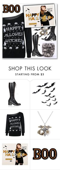 """Untitled #981"" by lejla-7 ❤ liked on Polyvore featuring Retrò, Halloween and giveaway"
