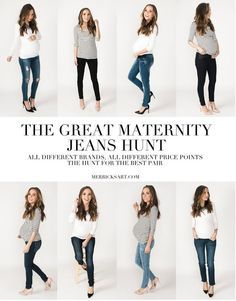 THE GREAT MATERNITY JEANS HUNT, PART 1